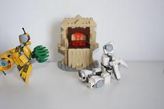 Merry Xmas 2015 !(2) (Loysnuva) Tags: christmas xmas tree fireplace lego system mecha mocs moc loys nuva icya bionifigs loysnuva mihibot bizibot