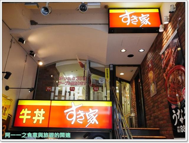 すき家.Sukiya.京都神戶美食. 鰻魚飯.漢堡排.平價image002