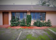 Room 42 (rickele) Tags: closed vacant highway101 outofbusiness coosbay livedin monthlyrates notell weeklyrates usroute101 bayshoremotel