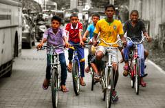 The flip-flop tour (Saint-Exupery) Tags: leica bike cutout candid bicicleta srilanka galle robado