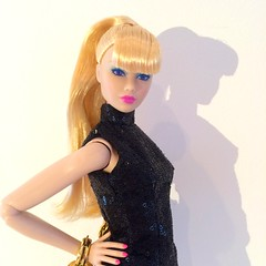 Clash!!- jem and the holograms  (trulytrulyoutrageous) Tags: fashion doll clash montgomery jem royalty misfits integrity holograms