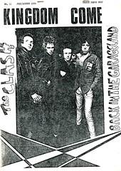 Kingdom Come issue #11 (1978) (stillunusual) Tags: punk clash punkrock 1978 1970s kingdomcome newwave theclash fanzine punkzine punkfanzine johnnywaller