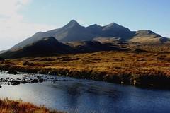 Black Cuillin from Sligachan (pauldunn52) Tags: skye river scotland isle pinnacle sligachan