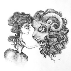 I See You Now (Enchanted Fields) Tags: love beauty fairytale hearts heart princess disney belle beast storybook truelove graphite lineart enchanted linedrawing whimsical beautyandthebeast pencilart pencildrawing disneyprincess inkart