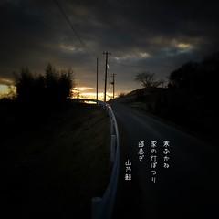 ()   #photoikku #snapseed #jhaiku # # (Atsushi Boulder) Tags: winter poetry poem haiku  verse  photoikku  snapseed jhaiku