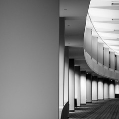 Negative [Convention] Space (ep_jhu) Tags: light bw abstract building lines architecture us dc washington districtofcolumbia fuji shadows unitedstates curves minimal repetition conventioncenter dcist fujifilm curve abstracto curvas curva x100s