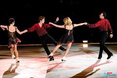 Meryl Davis & Charlie White, and Tanith Belbin & Ben Agosto
