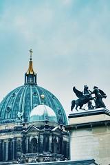 Berliner Dom im Schnee (blanscheflur) Tags: schnee snow berlin church architecture germany dom kirche architektur