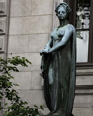 Bronze Statue of Marianne (jdepencier) Tags: canada statue bronze liberty quebec montreal fraternity marianne equality