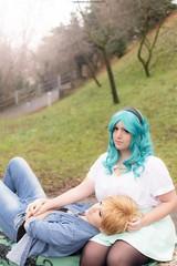 DSC_4081 (XRavenheartPH) Tags: moon cute girl couple foto cosplay persone haruka di yuri cosplayer sailor neptune uranus gruppo michiru bambino allaperto