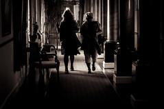 The Hotel (www.stefanblombergphotography.com) Tags: people blackandwhite bw monochrome dark blackwhite indoor mystic
