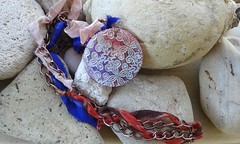 20160118_125109 (katerina66) Tags: texture necklace handmade jewellery chain polymerclay silksari