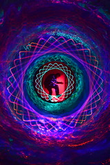 Spirotunnel. (martbarras) Tags: white lightpainting paper lens toy rainbow nikon brighton photographer no tunnel indoor fisheye tokina cardboard swap balance nophotoshop custom jpeg 8mm capped shoreham spirograph samyang sooc d7100 1116mm lpuk faffin martbarras microlp spirotunnel