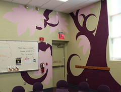 Painting the Children's Activity Room at the Georgetown Branch (ACPL) Tags: painting georgetown geo fortwaynein acpl allencountypubliclibrary