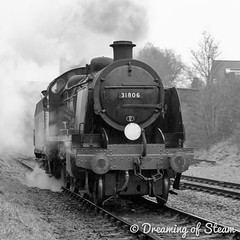 GCR-WINTER-GALA-98 (Steven Reid - Reid Photographic) Tags: railroad heritage train vintage smoke engine railway steam locomotive uboat sr steamengine 260 mogul southernrailway steamlocomotive 2016 greatcentralrailway gcr wintergala 31806 heritagerailways uclass