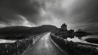 Eilean Donon Castle ,Scotland .