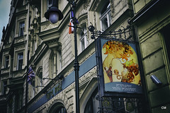Restaurant Sarah Bernhardt - Hotel Pariz (.carleS) Tags: canon cafe praga modernisme pariz canoneos60d caeduiker