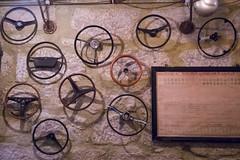 365+1/49 Steering wheels (marina_felix) Tags: stone wall steering rustic wheels decoration