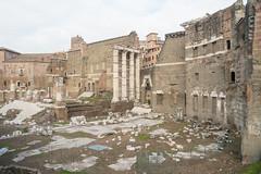 Qu habr sido esto? (luisetegt) Tags: roma ruinas imperioromano antiguaroma forodeaugusto templodemarte columnasromanas forosimperiales