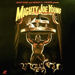 Mighty Joe Young (Argosy/RKO Pictures, 1949). Laserdisc Album Cover from Turner Entertainment (lhboudreau) Tags: art film illustration movie monkey gorilla films coverart piano illustrations romance nightclub hollywood ape horror albumcover movies horrormovie pianist turner floorshow 1949 warnerbros warnerbrothers laserdisc motionpictures argosy motionpicture horrorfilm johnford rko terrymoore giantgorilla mightyjoeyoung robertarmstrong giantape willisobrien merianccooper ernestbschoedsack turnerentertainment laserdiscalbum