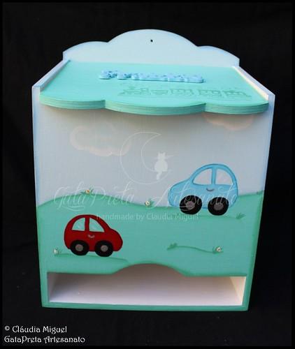 """Fraldário, cesta, caixa de recordações de bebé,... """"Passeio de Carrinho"""""""