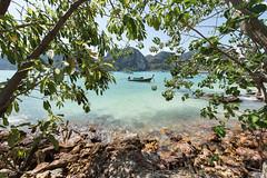 Ko Phi Phi Don (Xaypp) Tags: sun beach water island boat thailande