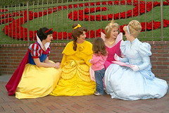 Disney Princesses at Disneyland (GMLSKIS) Tags: princess disneyland disney aurora belle amusementpark cinderella anaheim snowwhite sleepingbeauty