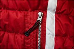 (#2.898) Macro Mondays /Red [Explore] (unicorn 81) Tags: explorephoto explore rot macro macromontags march14thecolorred anorak reisverschluss detail stoff farbe zippe red material color macro mondays closeup
