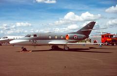 Falcon 10MER (Al Henderson) Tags: england mer unitedkingdom 10 aviation military airshow falcon gb raf fairford dassault riat bizjet 57s frenchnavy cotswolddistrict