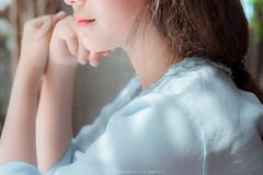Sony A7 + Sonnar Carl Zeiss T* FE 55mm F1.8 ZA (Trần Trung Nghĩa) Tags: light portrait people sunlight beauty backlight portraits t asian natural sony naturallight indoor vietnam a7 backlighting lightblue sonnar primelens sonyalpha 55f18 sonya7 cz55 fe55 cz55f18