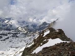 Widok z Pic Spijeoles na zachód