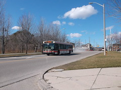 D40LF #7341 on the 44 Kipling South (Edward B.'s Pictures) Tags: torontoontario newtoronto etobicokeontario colonelsamuelsmithpark 44kiplingsouth newflyer d40lf 7341 torontotransitcommission ttc colonelsamuelsmithparkdrive
