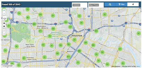 Houston Prime Realty offers a Map Search of Houston TX Real Estate