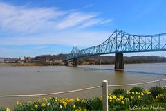 Ironton-Russell Bridge (xandai) Tags: bridge ohio russell kentucky ohioriver metalbridge ironton