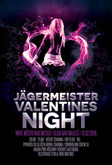 JGERMEISTER VALENTINES NIGHT (skunkgraphics) Tags: party night photoshop design flyer action event crew valentines skunk jgermeister dodna skunkgraphics snowblinkcrew dodnaparty kdedameparty