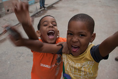 The Incredible Hulk... The Cuban Children Style (hectordotlee) Tags: street travel family portrait urban boys canon children happy humorous child outdoor havana cuba scenic tourist local interaction doubletrouble lahabana resident 500d canon500d