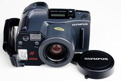Olympus AZ-300 Superzoom (Jörg Krüger) Tags: camera analog 35mm olympus pointnshoot superzoom bridgecamera az300