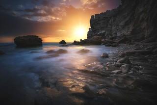 Vue d'en bas (Bonifacio / Corsica)