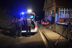 Bad Liebenzell: PKW erfasst Menschengruppe auf Brgersteig - 19.03.2016 (GoldstadtTV) Tags: brgersteig badliebenzellerfasst