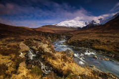 Glenbrittle (the CAMera of ian CAMpbell; simple) Tags: mountain snow mountains skye water river rocks stream long exposure fairy filter pools waterfalls isle nuance cuillin glenbrittle cokin camcam