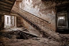 IMG_7646-2 (Gocha Nemsadze) Tags: wrecked abandoned georgia georgien alt old horror ruins ruine canoneosm3 treppe gochanemsadze gocha nemsadze