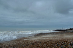 20130106_0036_7_8_fused (EJ Bergin) Tags: sea beach sussex worthing pebbles groyne seadefences lumixtz10