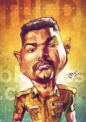 Theri Caricature (Bharat KV) Tags: vijay india celebrity films movies kollywood tamilcinema ilayathalapathy thalapathy tamilactor theri tamilfilms bkvarts