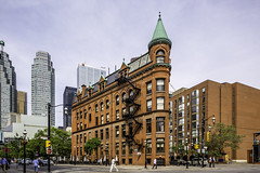 Gooderham Building aka Toronto Flatiron Building (Mabry Campbell) Tags: street people toronto ontario canada building architecture photography march photo cityscape photographer image fav50 may landmark fav20 historic photograph 100 fav30 flatironbuilding fineartphotography 80mm architetcure 2016 2015 commercialphotography fav10 f32 locallandmark gooderhambuilding nationallandmark fav40 fav60 phoot fav80 fav70 davidrobertsjr hc80 sec mabrycampbell march252016 20160325campbellb0001107