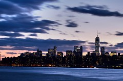 Moving On (Lojones13) Tags: city sky newyork skyline architecture clouds river landscape moving cityscape outdoor