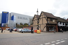 Medieval Spon Street, Coventry (tim ellis) Tags: uk ikea architecture medieval coventry halftimbered sponstreet sponst msh0416 msh041615 bfm0416