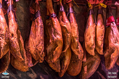 hanging cut preserved meat - Mercat de la Boqueria (ChrisKarun) Tags: barcelona blue light food orange macro art texture ice colors fruits st azul fruit joseph la yummy spain nikon perfect colours photographer bright market cream straw 85mm indoor catalonia mercado pineapple icecream mango vip catalunya nikkor f18 18 kiwi 35 frutta mercato naranja grape luce barcellona popsicle the josep blueribbonwinner d810 anawesomeshot colorphotoaward aplusphoto megashot rabataller colourartaward milla45 gracetoday
