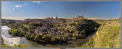 Toledo. Espaa (AGL PHOTO) Tags: panorama espaa rio river la spain ciudad toledo tajo castilla mancha panormica