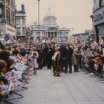 Walkabout in Whitefriargate, Hull, by Her Majesty The Queen 13th July 1977 (archive ref CCHU-4-1-9-2)