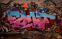 graffiti doel (wojofoto) Tags: abandoned graffiti village belgium belgie font dorp doel wolfgangjosten wojofoto